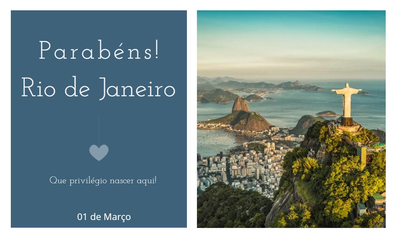 aniversaio do rio de janeiro - Data de aniversário do Rio de Janeiro - RJ