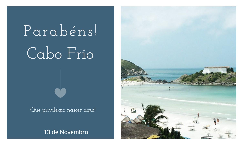 aniversario de cabo frio - Data de aniversário de Cabo Frio - RJ