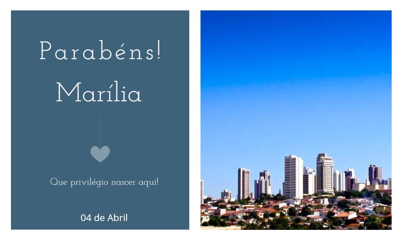 aniversario de marilia sp - Data de aniversário de Marília - SP