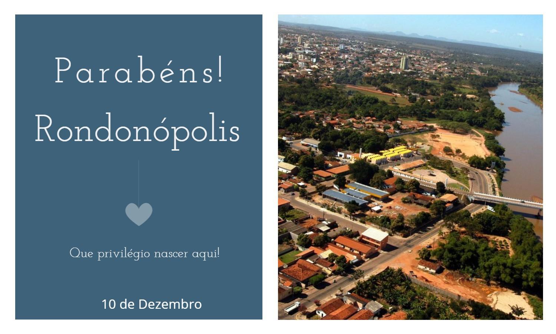 aniversario de rondonopolis 1 - Data de aniversário de Rondonópolis - MT