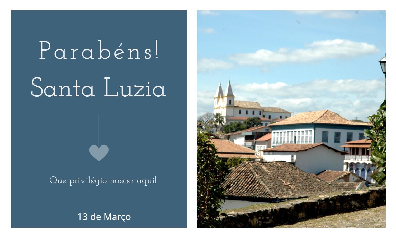 aniversario de santa luzia mg - Data de aniversário de Santa Luzia - MG