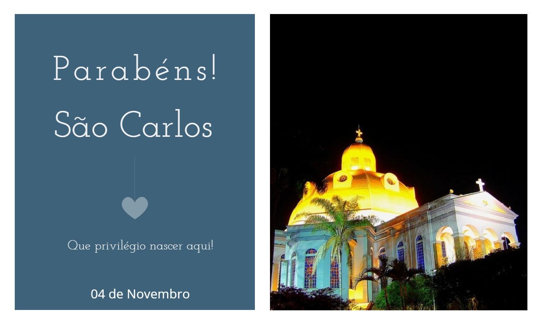 aniversario de sao carlos sp - Data de aniversário de São Carlos - SP