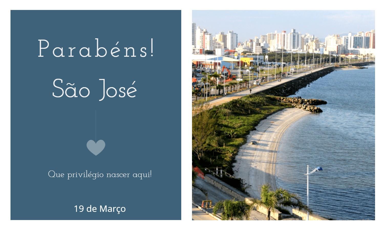 aniversario de sao jose sc - Data de aniversário de São José - SC
