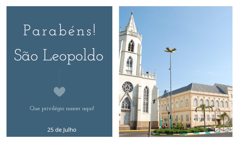 aniversario de sao leopoldo rs - Data de aniversário de São Leopoldo - RS